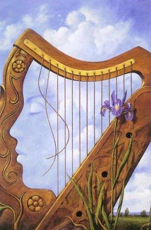 harp illusion